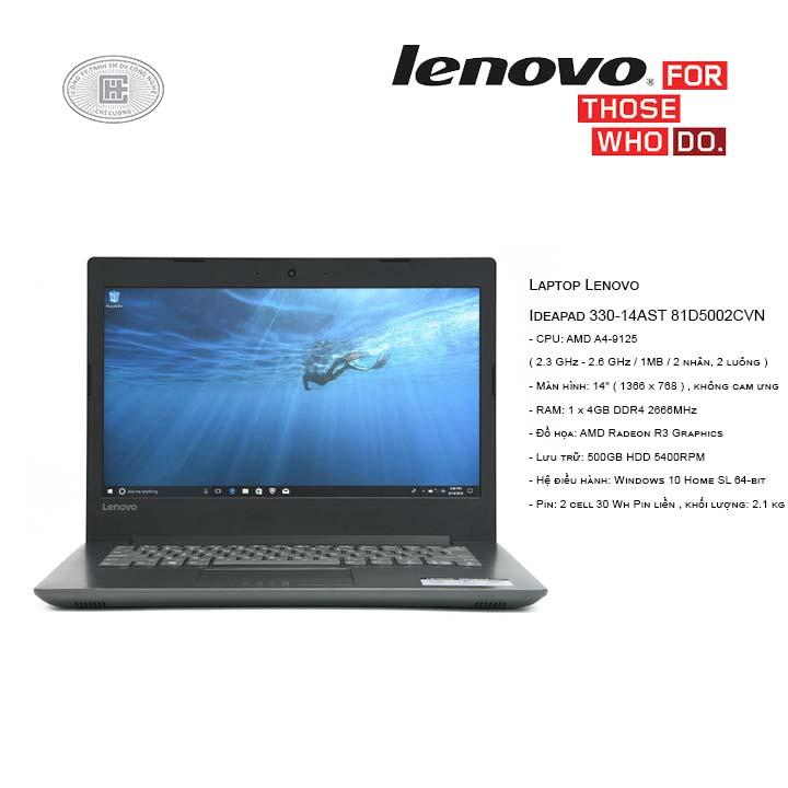 Laptop Lenovo Ideapad 330-14AST 81D5002CVN (14
