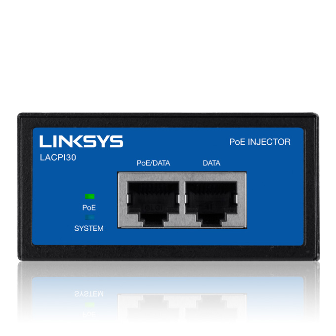 Thiết bị cấp nguồn qua dây cáp mạng dùng cho các sản phẩm Wifi Linksys SMB - Linksys LACPI30