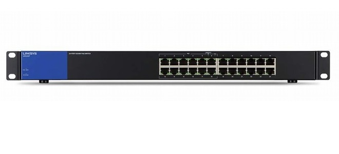 Linksys 24 Ports Gigabit PoE+ Switch LGS124P - UNMANAGED SWITCH