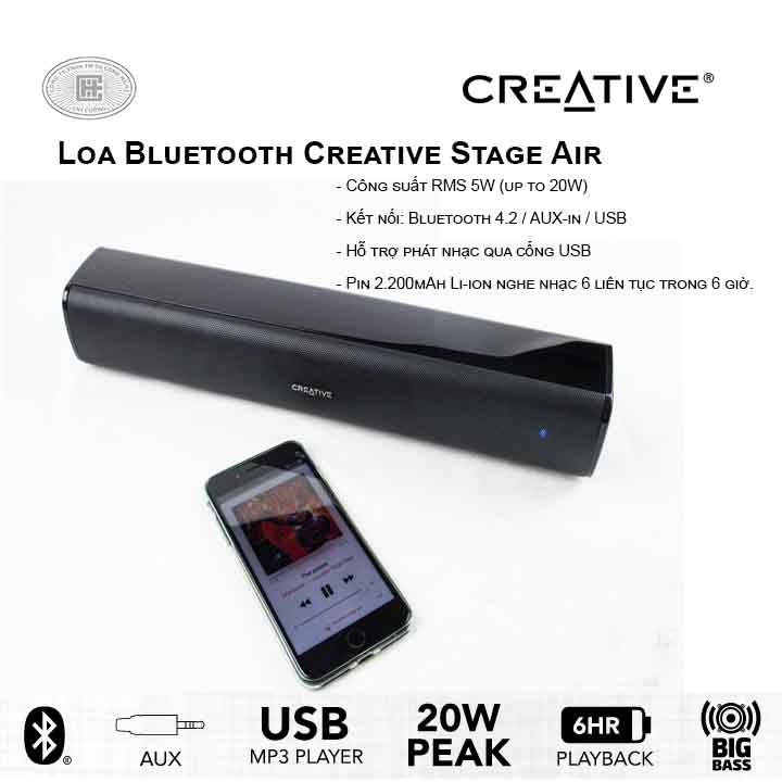 Loa bluetooth Creative Stage Air