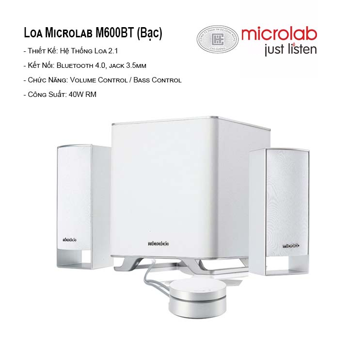 Loa Bluetooth Microlab M-600 BT New 2.1
