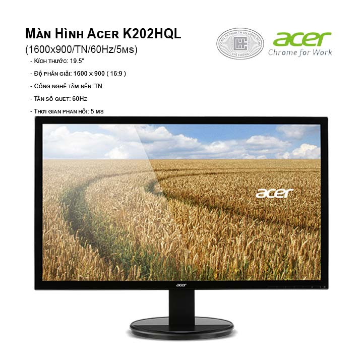 Màn hình máy tinh Acer K202HQL