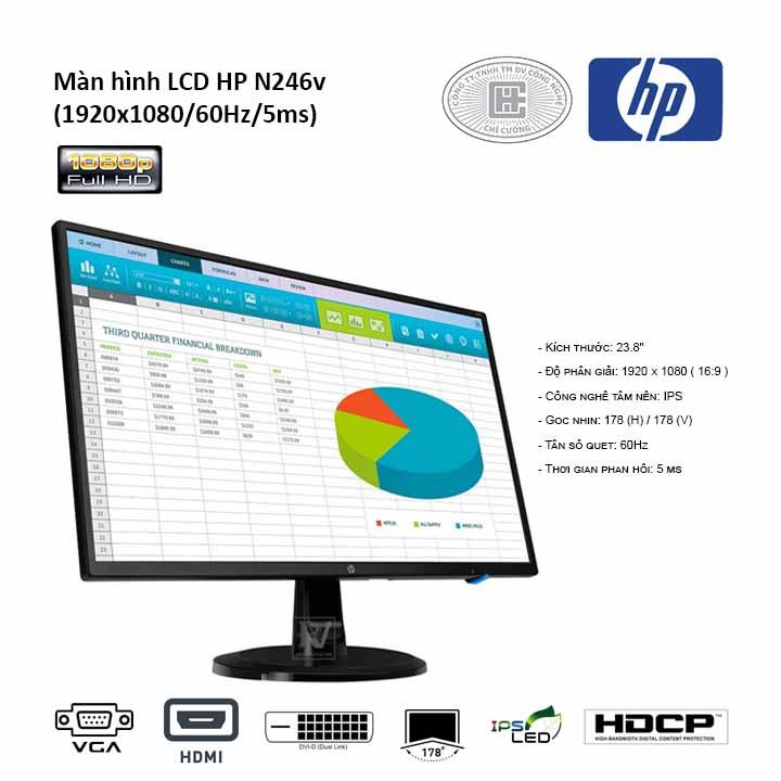 Màn hình LCD HP N246v (1RM28AA)