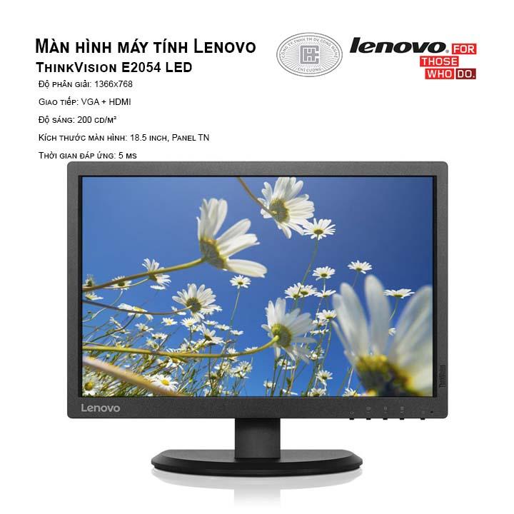 Màn Hình Lenovo E2054 (1440x900/IPS/60Hz/7ms)