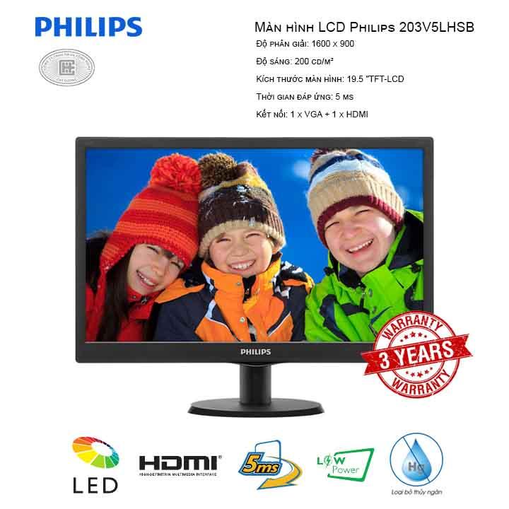 Màn hình LCD Philips 203V5LHSB