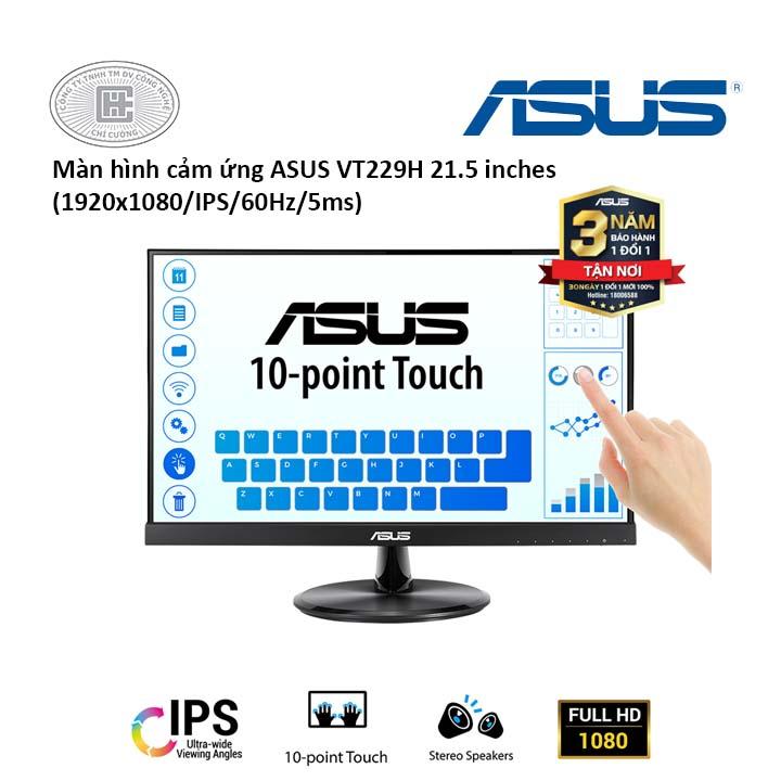 Màn hình cảm ứng LCD Asus 21.5 inch VT229H(1920x1080/IPS/5ms)