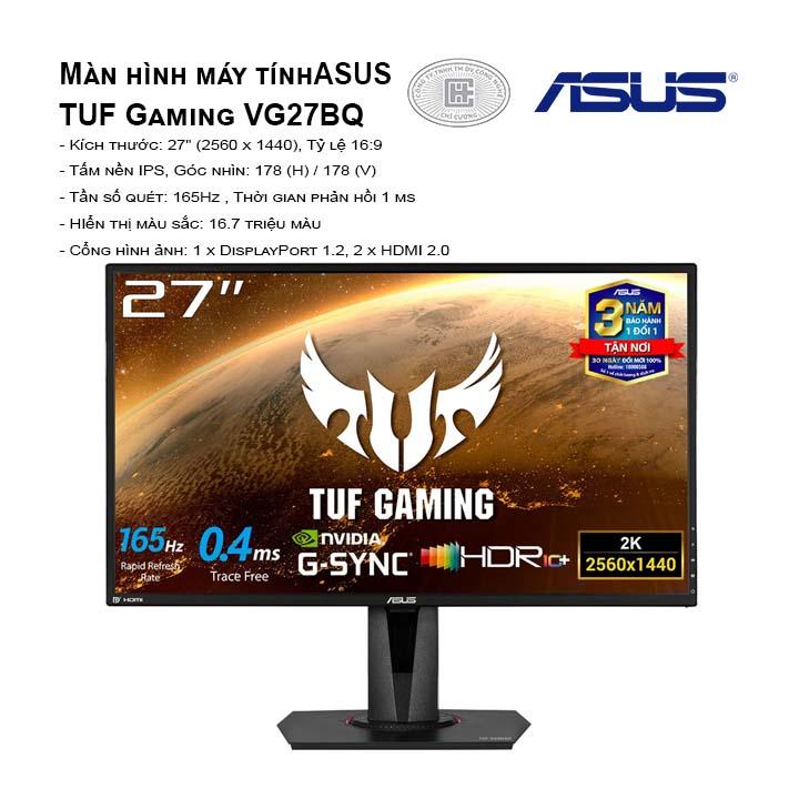 Màn hình máy tính Asus TUF Gaming VG27BQ