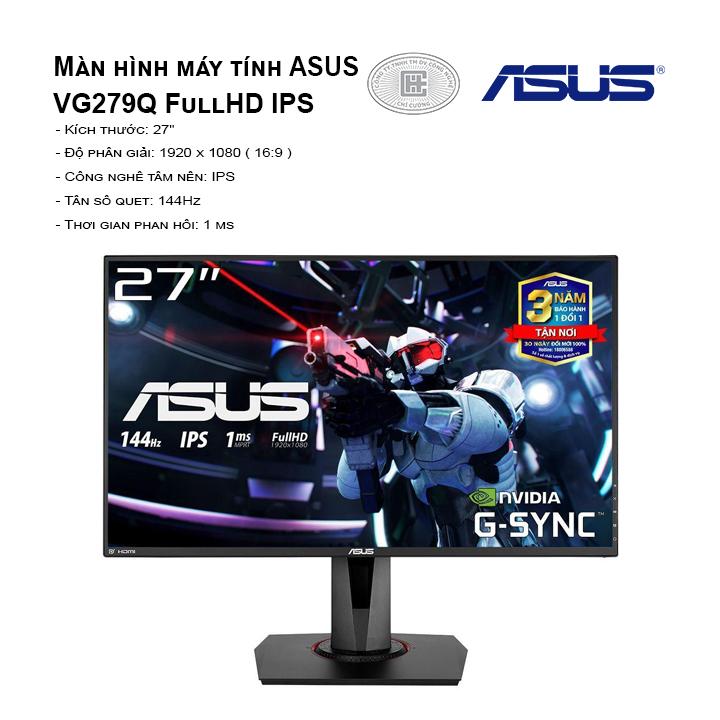 Màn hình ASUS ROG STRIX XG27VQ 27 inch cong Dull HD 144HZ