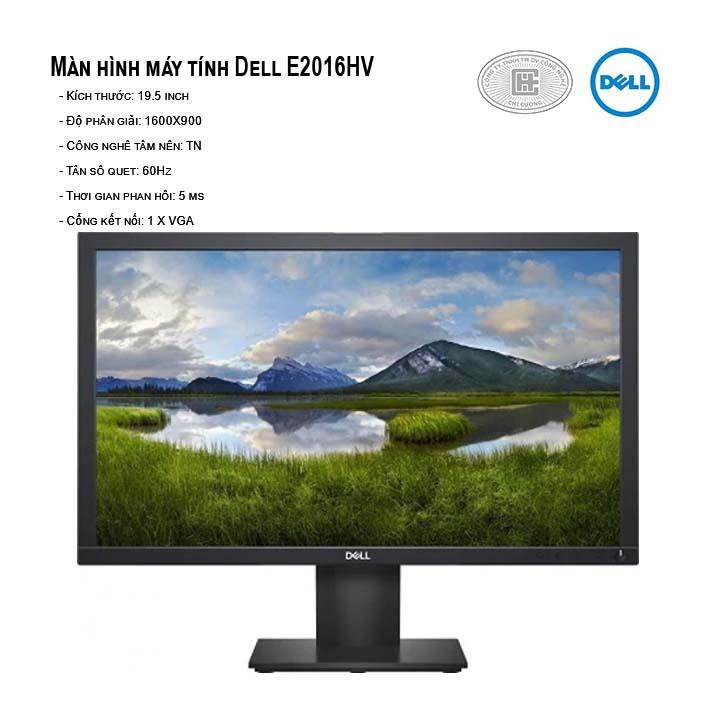 Màn hình máy tính LED IPS Dell E2016HV - 19.5 inch IPS