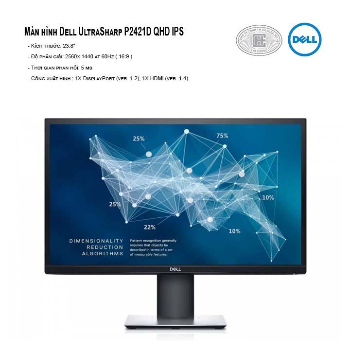 Màn hình máy tính Dell P2421D QHD IPS