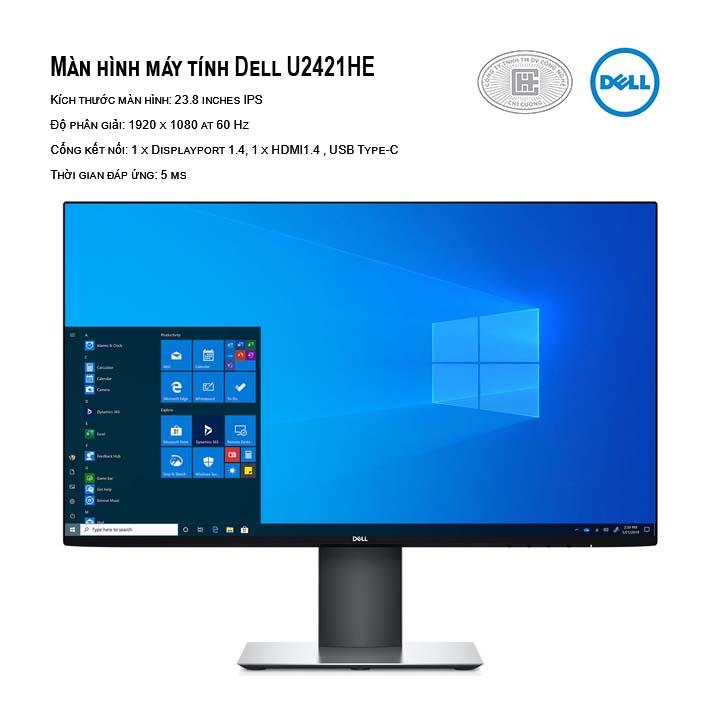 Màn hình máy tính Dell U2421HE 23.8 inch FHD IPS Type-C Network (RJ-45)
