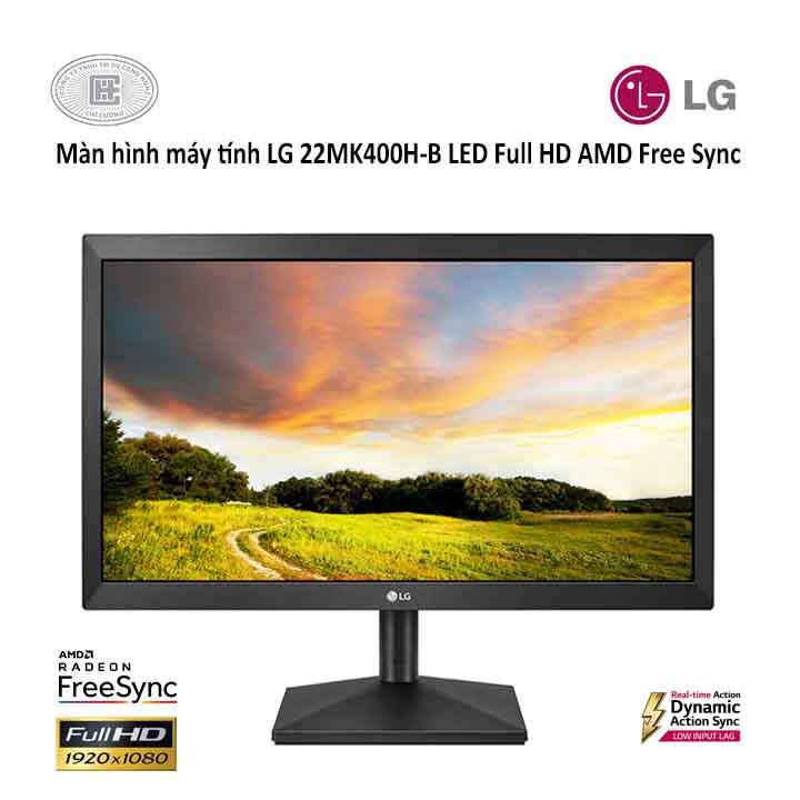 Màn hình máy tính LG LED 21.5'' 22MK400H-B Full HD FreeSync™