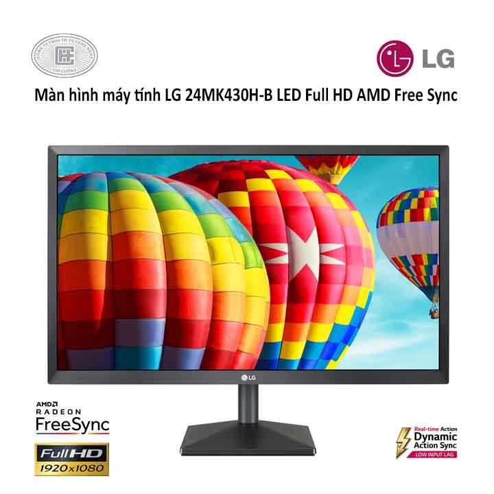 Màn Hình Gaming LG 24MK430H 24inch FullHD 5ms 75Hz FreeSync IPS