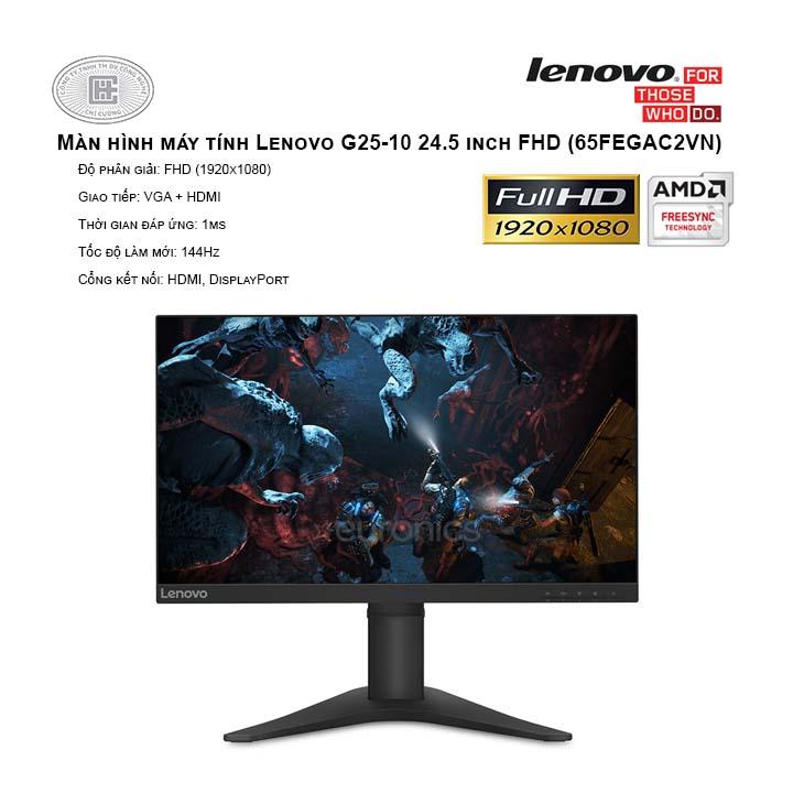 Màn hình máy tính Lenovo G25-10 24.5 inch FHD (65FEGAC2VN)