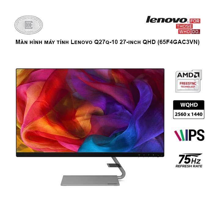 Màn hình máy tính Lenovo Q27q-10 27-inch QHD (65F4GAC3VN)