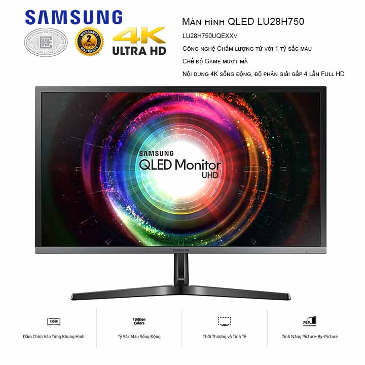 Màn Hình Samsung 28 inches LU28H750UQEXXV
