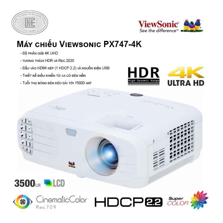 Máy chiếu Viewsonic PX747-4K