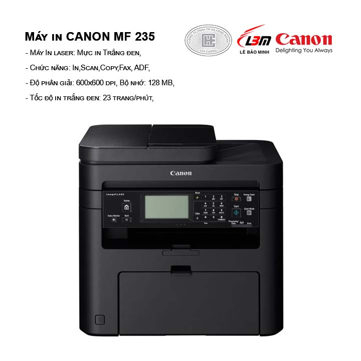Máy in laser trắng đen CANON MF 235