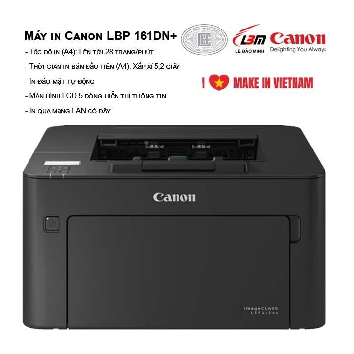 Máy in Canon LBP 161DN+