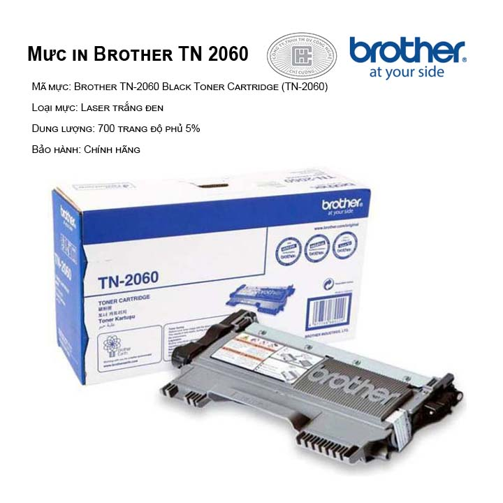 Mực in Brother TN-2060