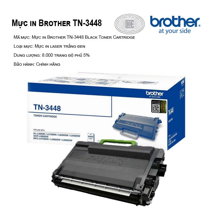Mực in Brother TN-3448