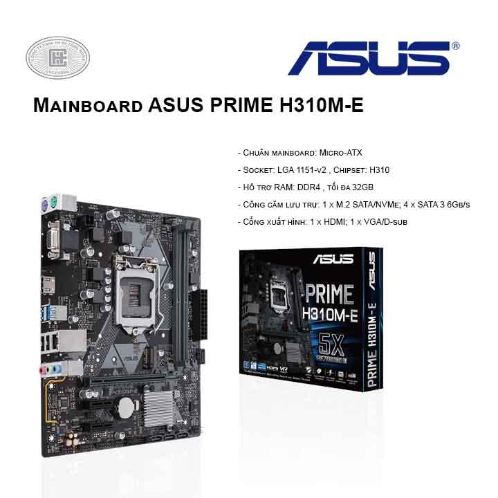 Mainboard ASUS PRIME H310M-E