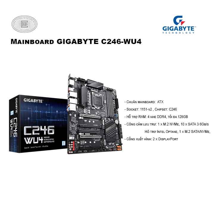 Mainboard GIGABYTE C246-WU4