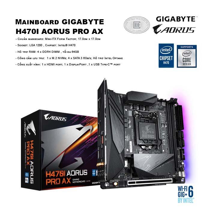 Mainboard GIGABYTE H470I AORUS PRO AX