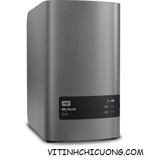 Ổ cứng WD My Book Duo - 4TB  WDBFBE0040JBK