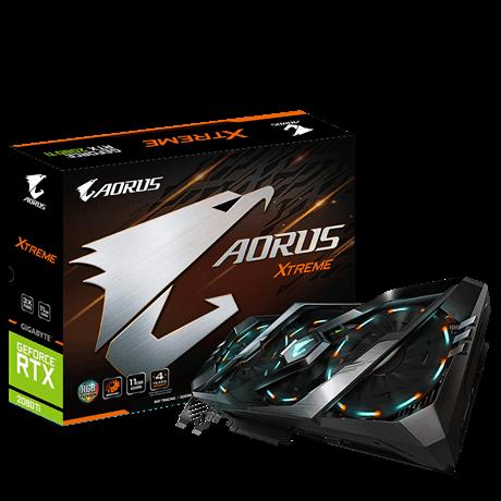 CARD VGA AORUS GeForce® RTX 2080 Ti N208TAORUS-11GC