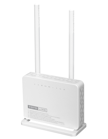 Bộ phát wifi TotoLink ND300 ADSL2/2+ Wireless Router