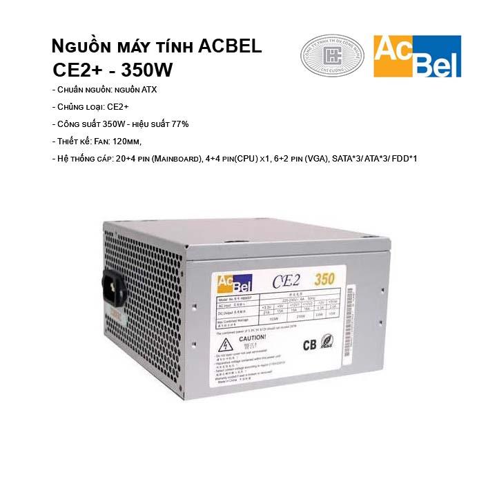Nguồn máy tính AcBel CE2+ - 350W