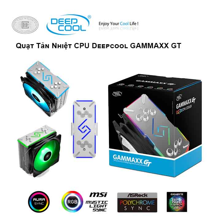Tản nhiệt khí CPU DEEPCOOL GAMMAXX GT