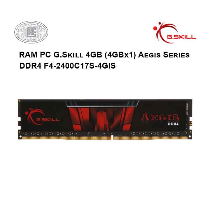 RAM PC G.Skill 4GB (4GBx1) Value Series DDR4 F4-2400C17S-4GIS