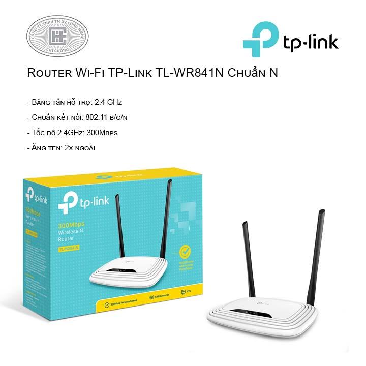Router Wi-Fi TP-Link TL-WR841N Chuẩn N