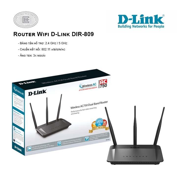 Router Wifi D-Link DIR-809