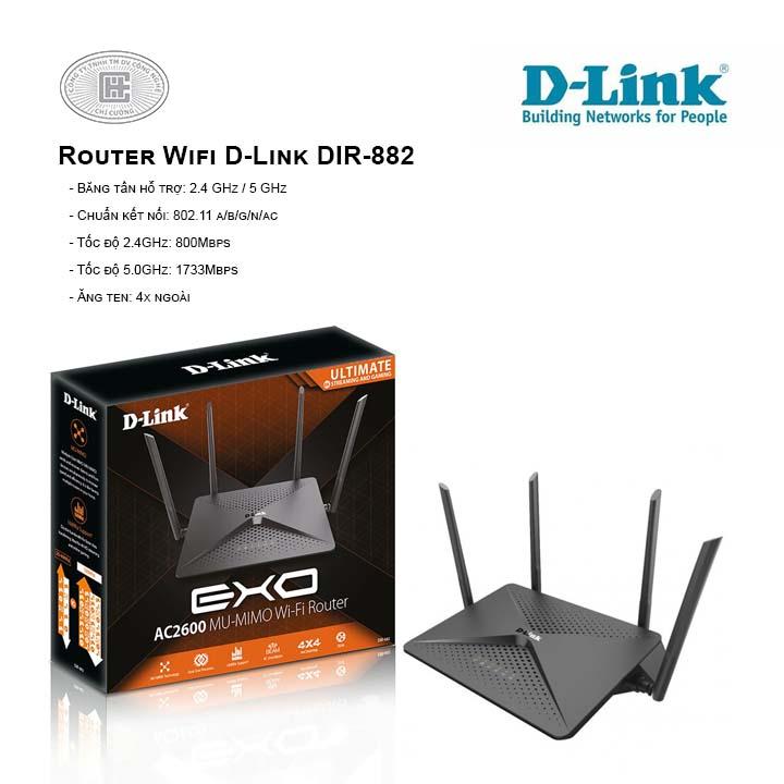 Router Wifi D-Link DIR-882