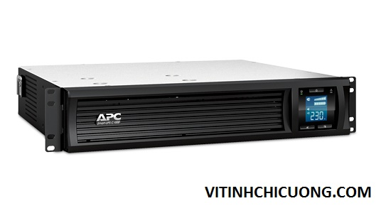 BỘ LƯU ĐIỆN APC Smart-UPS C 1000VA 2U Rack mountable LCD 230V - SMC1000I-2U - DÒNG APC SMART-UPS SMC (2 YEAR WARRANTY)