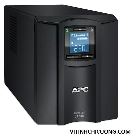 BỘ LƯU ĐIỆN APC Smart-UPS C 2000VA LCD 230V - SMC2000I - DÒNG APC SMART-UPS SMC (2 YEAR WARRANTY)