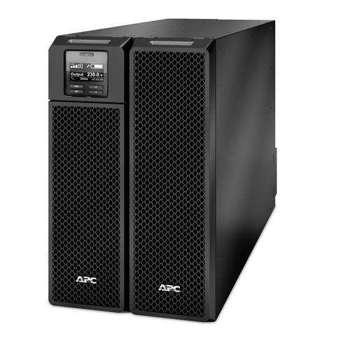 BỘ LƯU ĐIỆN APC Smart-UPS On-Line,10 kW /10 kVA,Input 230V, 400V 3PH /Output 230V -  SRT10KXLI - DÒNG APC SMART-UPS RT ON-LINE (for servers, voice / data networks, medical labs, and light industrial applications)