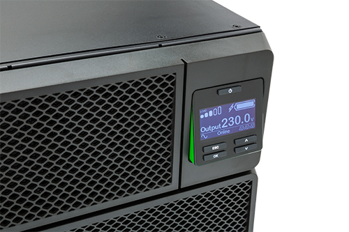 BỘ LƯU ĐIỆN APC Rackmount Smart-UPS On-Line,4500 Watts /5000 VA -  SRT5KRMXLI - DÒNG APC SMART-UPS RT ON-LINE (for servers, voice / data networks, medical labs, and light industrial applications)