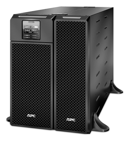 BỘ LƯU ĐIỆN APC Smart-UPS On-Line,6000 Watts /6000 VA - SRT6KXLI - DÒNG APC SMART-UPS RT ON-LINE (for servers, voice / data networks, medical labs, and light industrial applications)