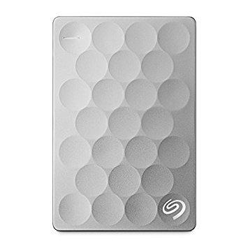 Ổ cứng di động Seagate® Backup Plus Ultra Slim 2TB Platinum 3.0