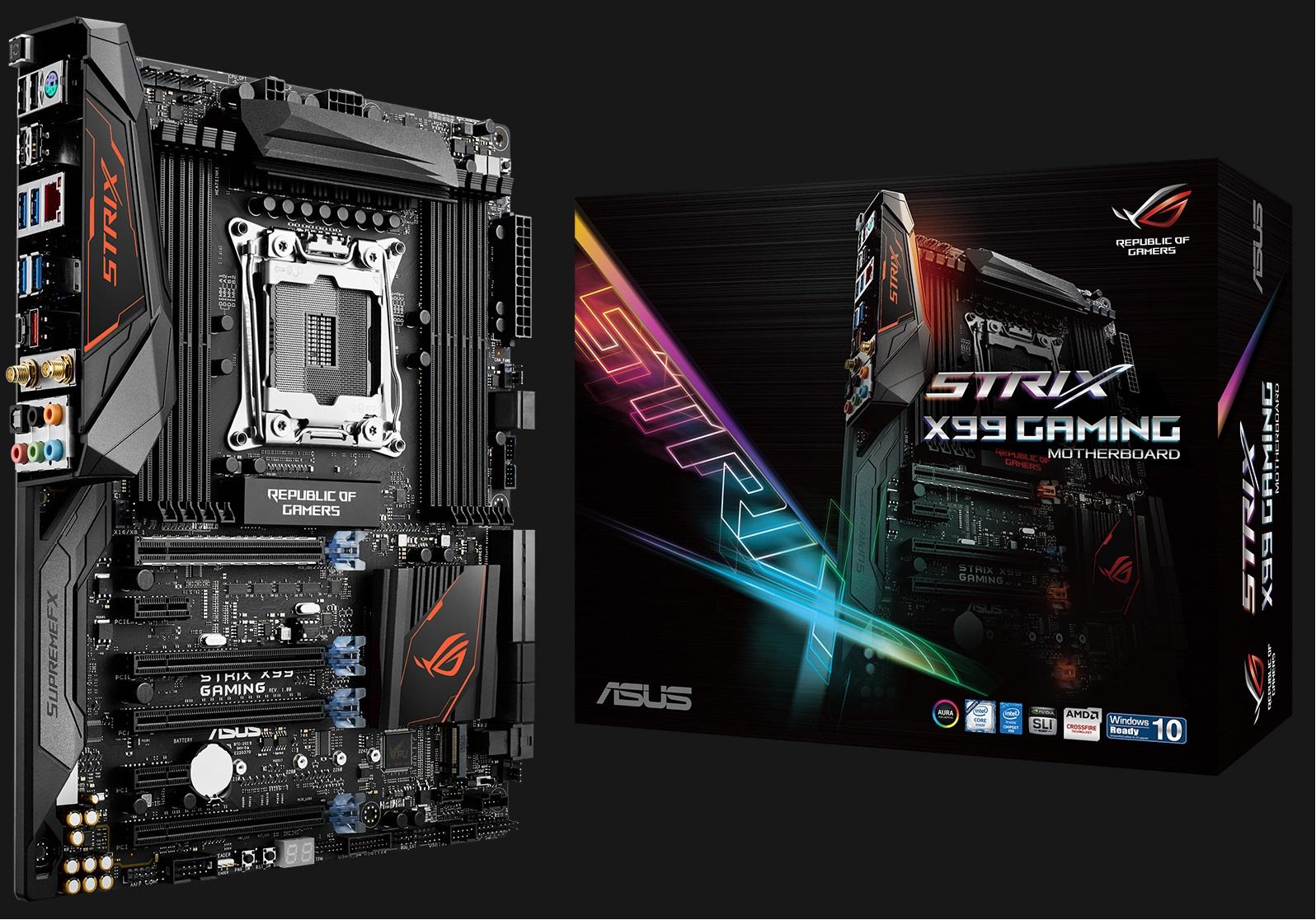 Mainboard ASUS STRIX X99 Gaming - LGA 2011