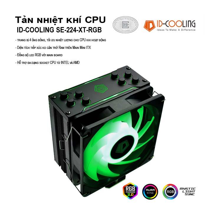 Tản nhiệt khí CPU ID-COOLING SE-224-XT-RGB