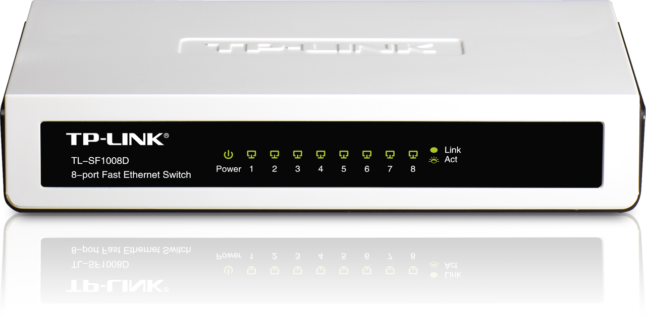 SWITCH TP LINK 8 port 10/100 TL SF1008D