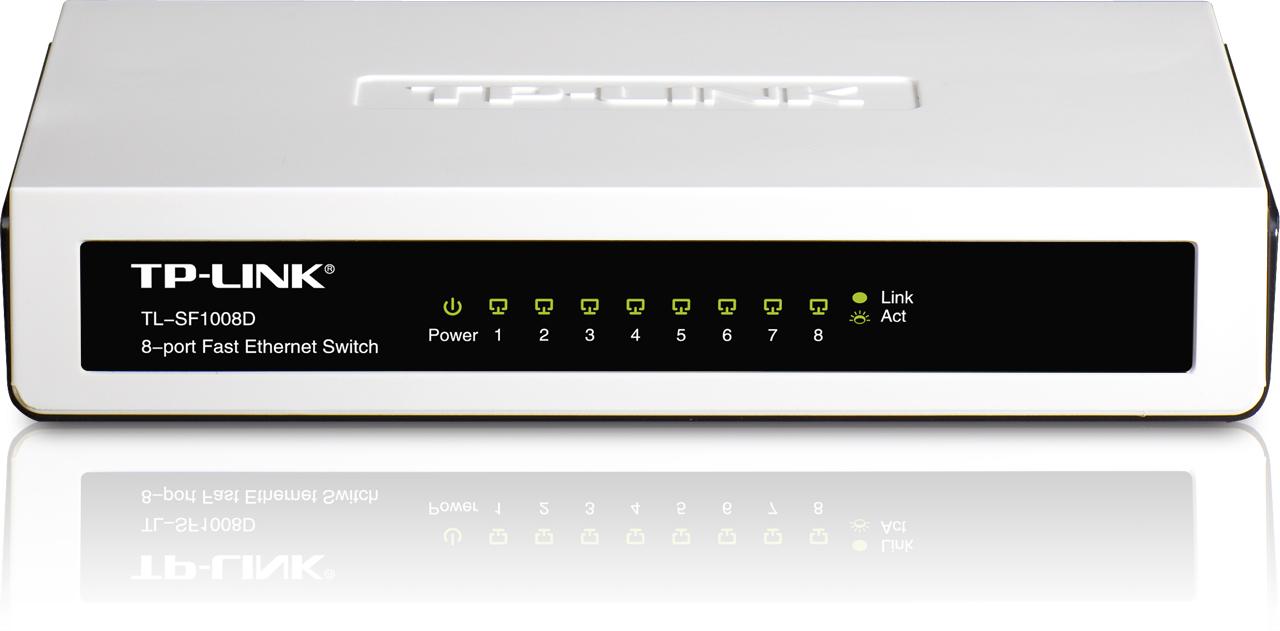 SWITCH TP LINK 8 port 10/100 TL SF1008D