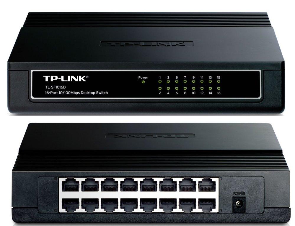 SWITCH TP LINK 16 port 10/100 M TL SF1016D