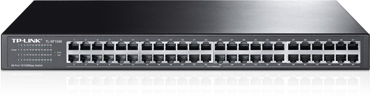 SWITCH TP LINK 48 port 10/100 M TL-SF1048