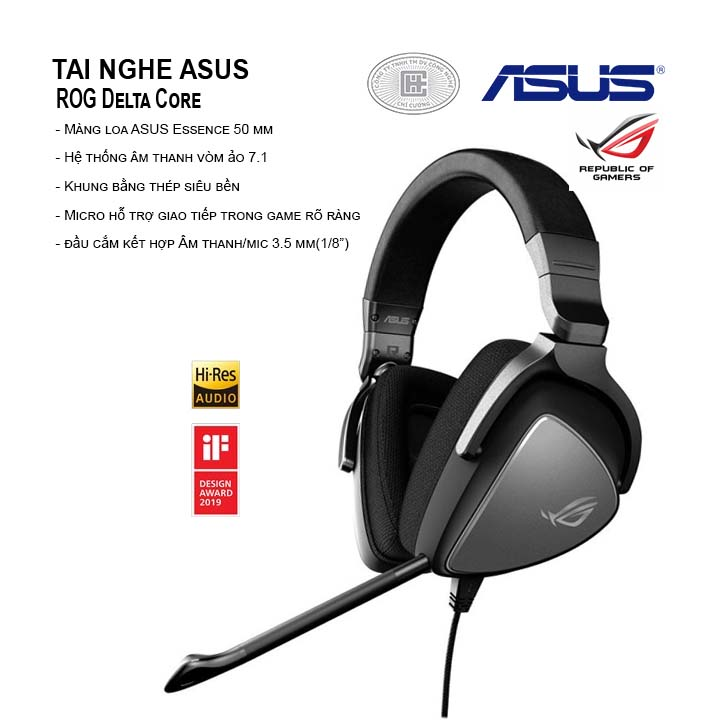 Tai Nghe Asus ROG Delta Core